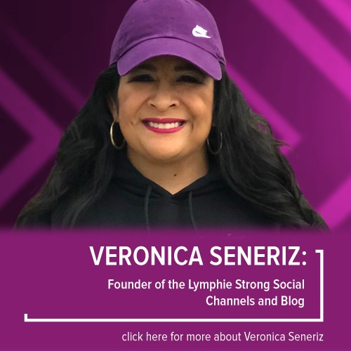 Veronica Seneriz, Founder of the Lymphie Strong Social Channels and Blog