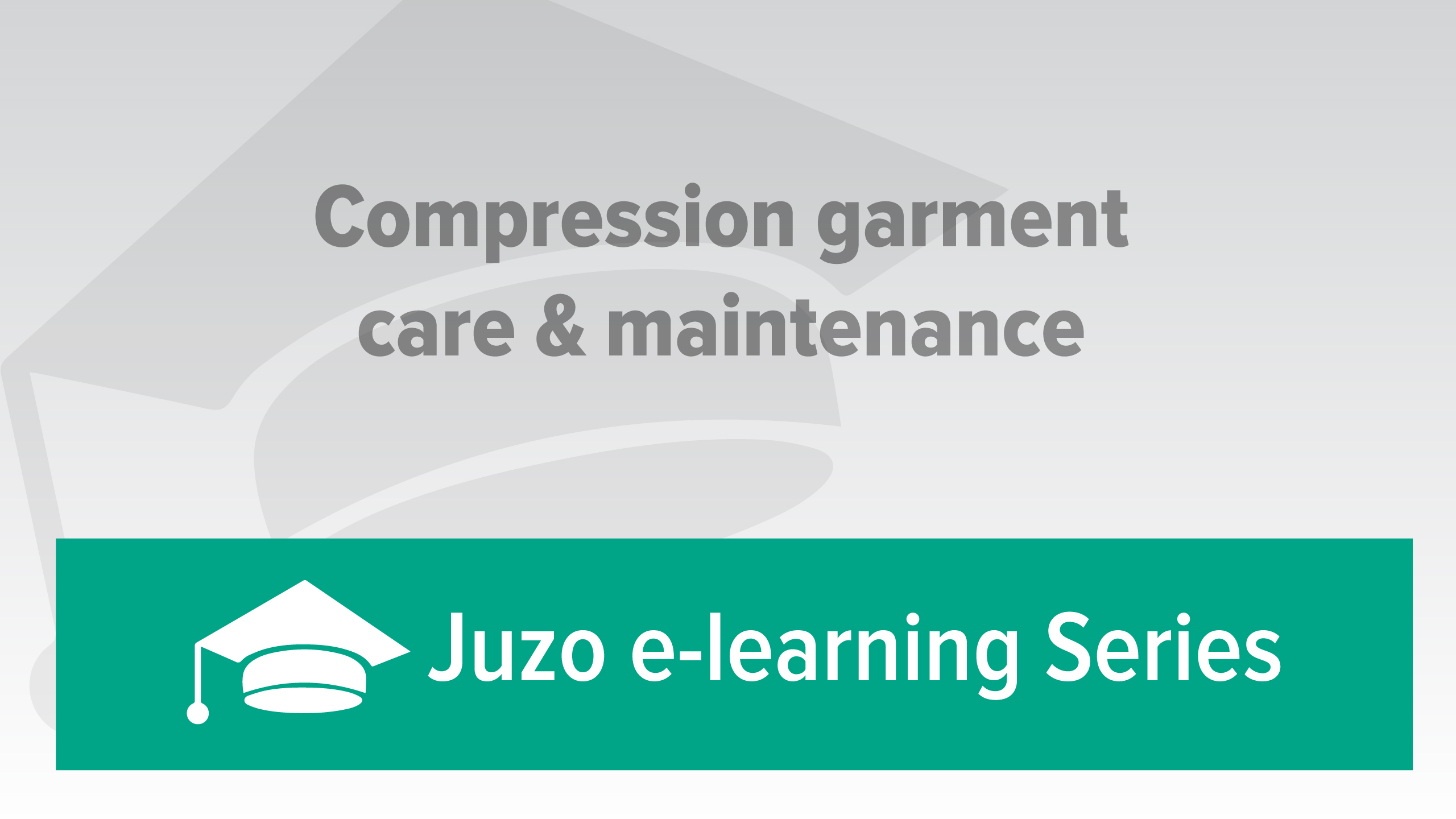 Compression Garment Care & Maintenance